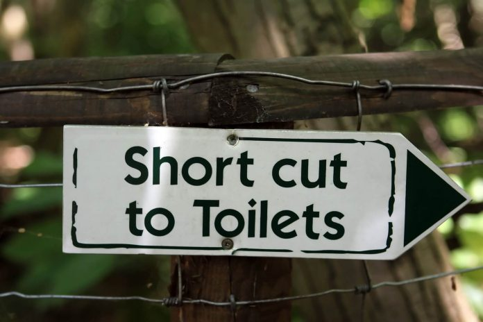 Shortcut to Toilets